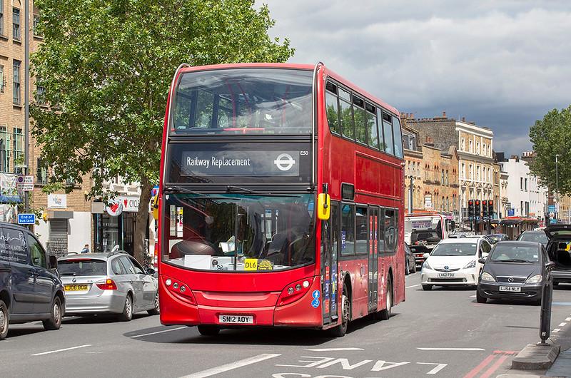 E50 SN12AOY, Whitechapel 11/7/2020