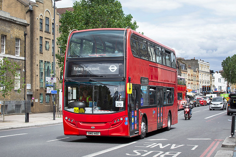 E51 SN12AOZ, Whitechapel 11/7/2020