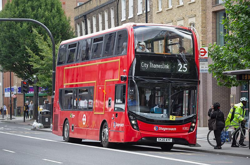 11352 SK20AYF, Whitechapel 11/7/2020