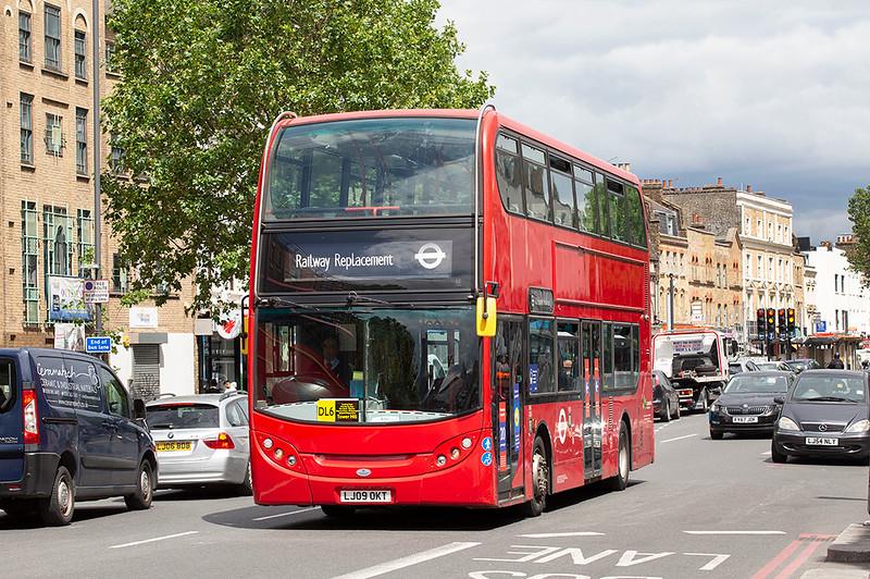 E43 LJ09OKT, Whitechapel 11/7/2020