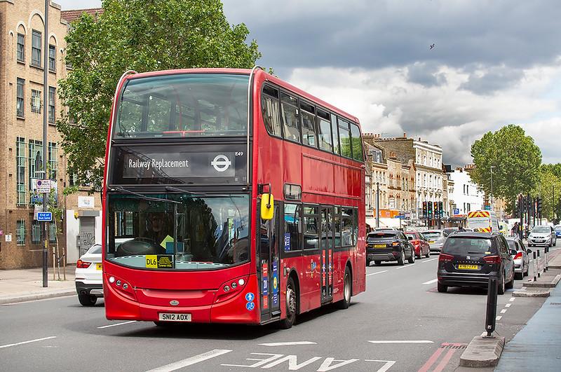 E49 SN12AOX, Whitechapel 11/7/2020