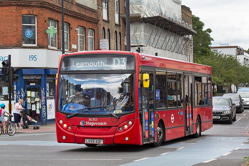 36355 LX59AOF, Whitechapel 11/7/2020