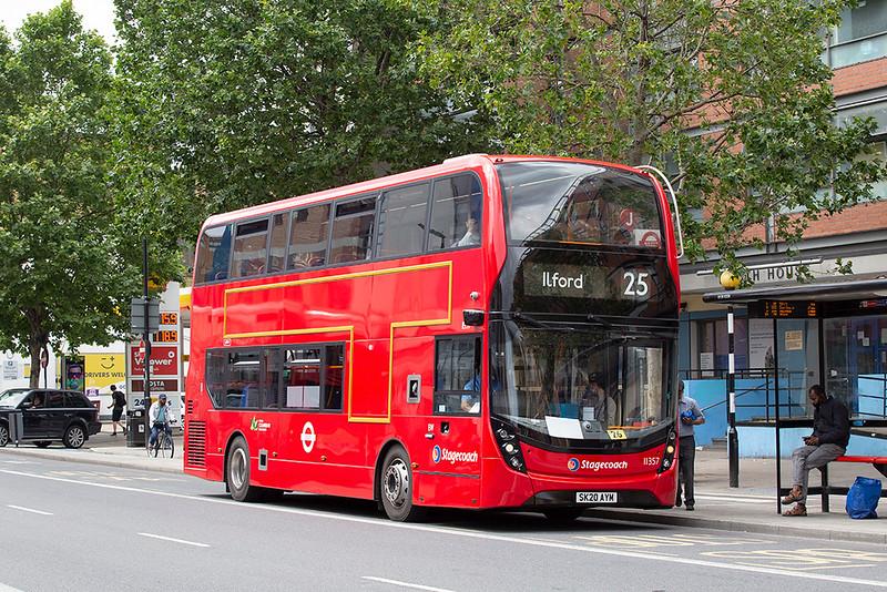 11357 SK20AYM, Whitechapel 11/7/2020