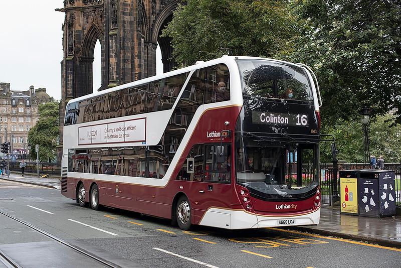 1063 SG68LCA, Edinburgh 11/9/2020