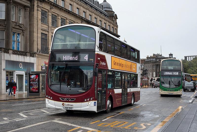 1144 LX60DXG, Edinburgh 11/9/2020