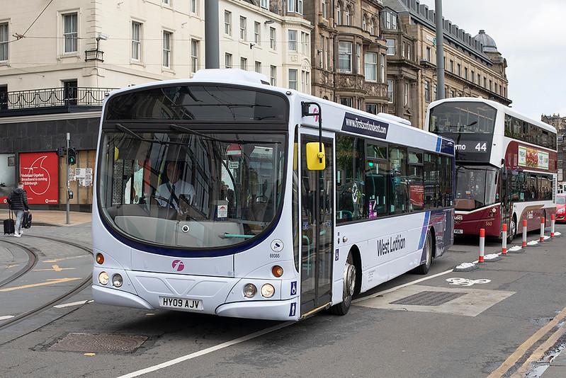 69385 HY09AJV, Edinburgh 11/9/2020
