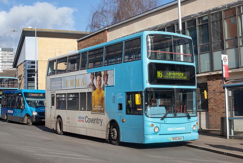 4370 BV52OAU, Coventry 12/2/2020
