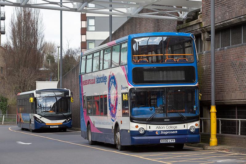 18503 KX06LYV, Basingstoke 13/3/2020