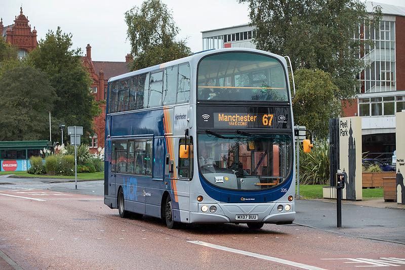 3215 MX07BUU, Salford 13/10/2020