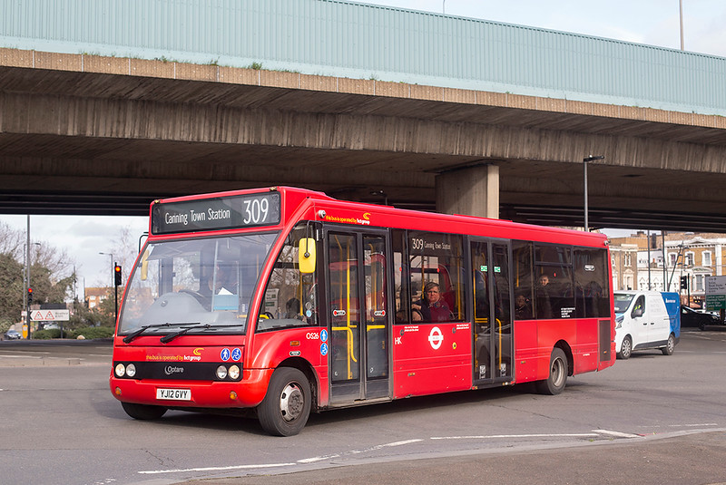 OS26 YJ12GVY, Canning Town 14/2/2020
