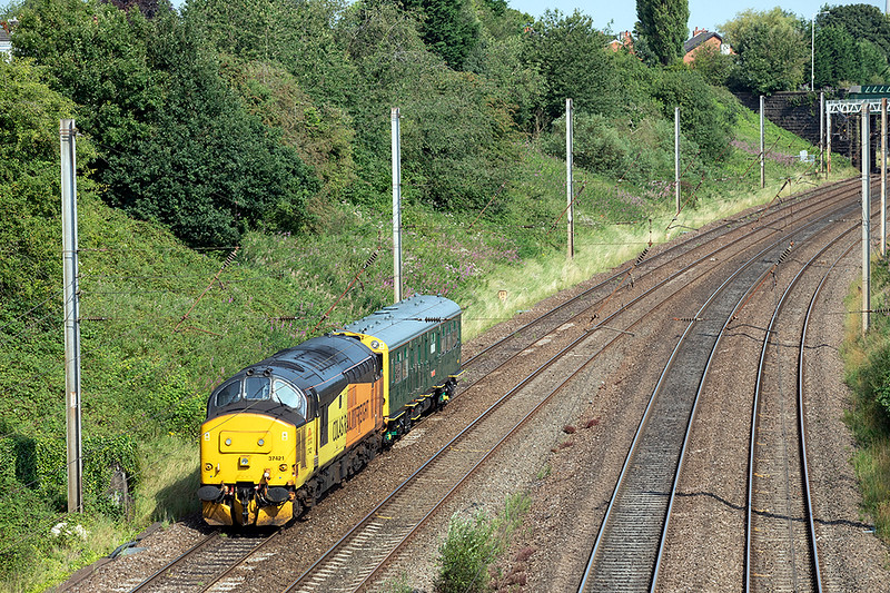 37421 Penwortham 14/8/2020<br /> 5Z94 0922 Crewe CS-Derby RTC (via Preston, Crewe and Preston)