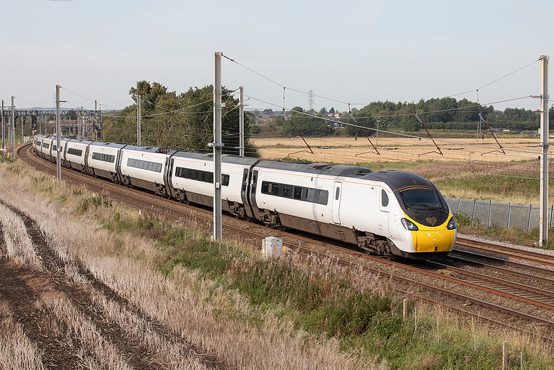 390001 Winwick Junction 15/9/2020<br /> 9S65 1143 London Euston-Preston