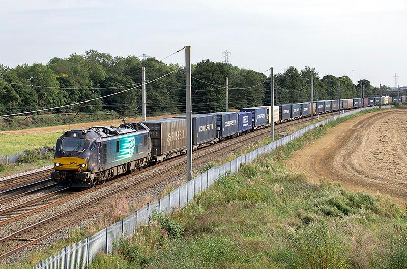 88005 Winwick Junction 15/9/2020<br /> 4S44 1216 Daventry-Mossend Yard