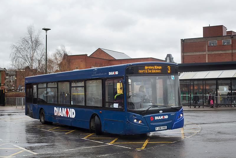 30947 FJ08VRD, Kidderminster 16/1/2020