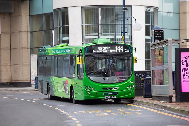 69451 WX59BZE, Birmingham 16/1/2020
