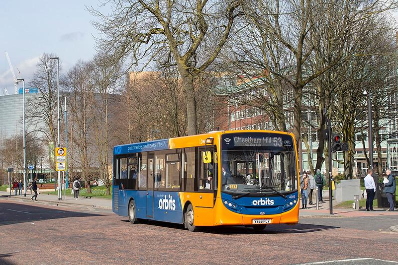 4015 YY66PCV, Manchester 16/3/2020