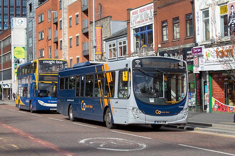 6164 BG14OOW, Manchester 16/3/2020