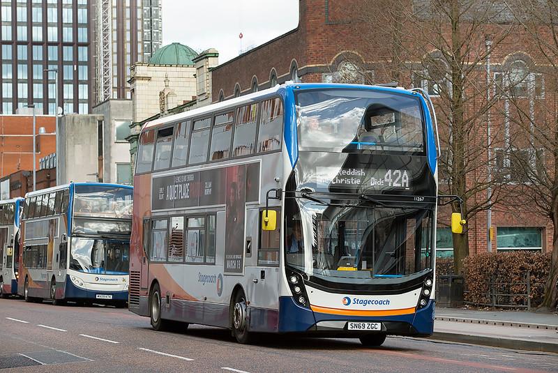 11267 SN69ZGC, Manchester 16/3/2020