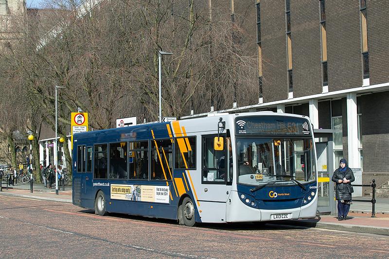 4007 LX13CZC, Manchester 16/3/2020