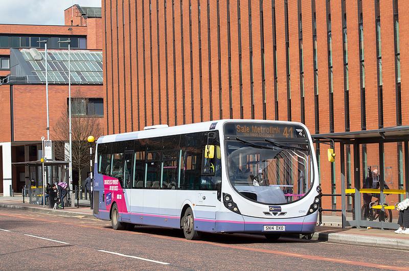 6004 SN14DXO, Manchester 16/3/2020
