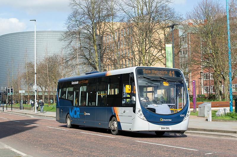 6002 SN14DXL, Manchester 16/3/2020