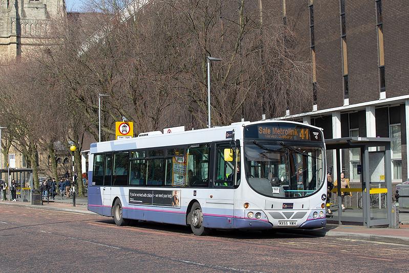 66890 MX55NWH, Manchester 16/3/2020
