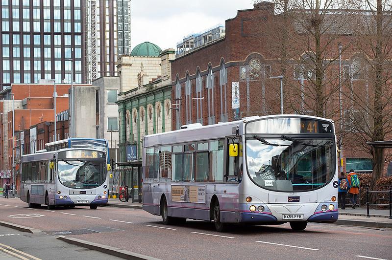 66897 MX55FFH, Manchester 16/3/2020