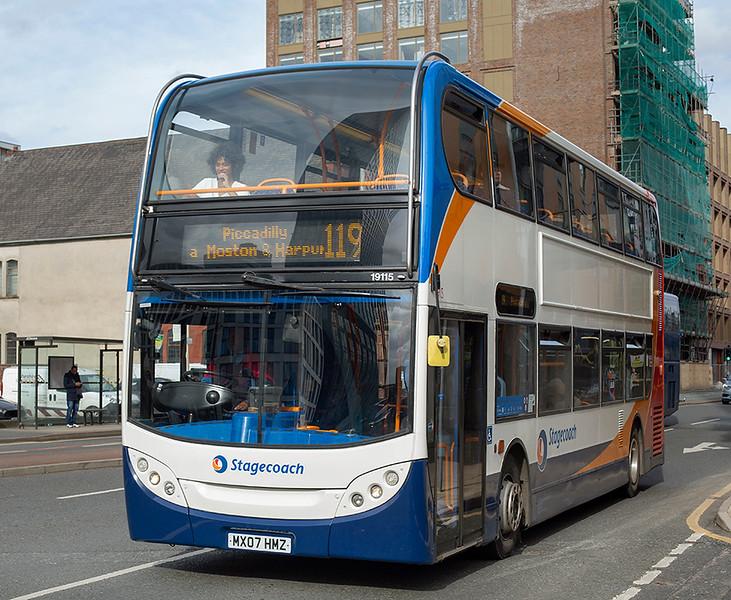 19115 MX07HMZ, Manchester 16/3/2020