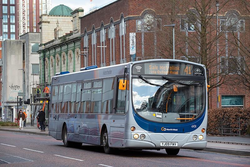 6101 YJ09FWV, Manchester 16/3/2020