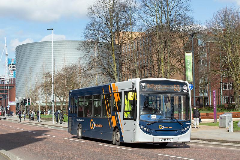 4005 YX62DTY, Manchester 16/3/2020