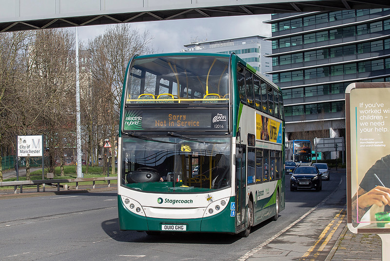 12016 OU10GHG, Manchester 16/3/2020