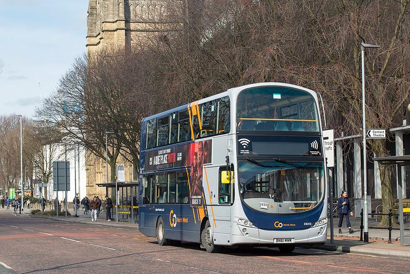 3007 BN61MWM, Manchester 16/3/2020