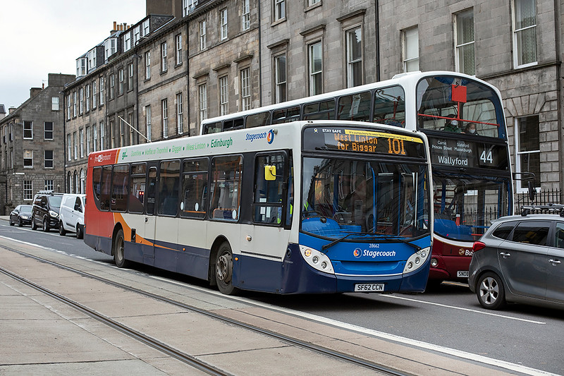 28662 SF62CCN, Edinburgh 16/10/2020