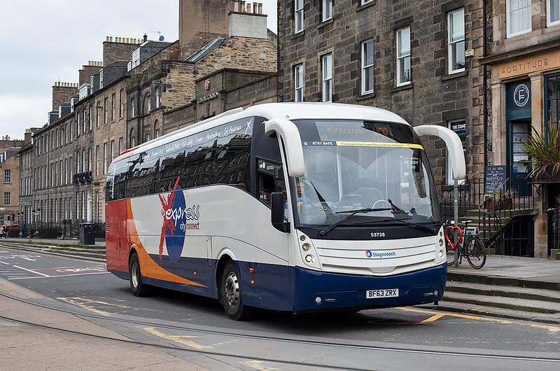53738 BF63ZRX, Edinburgh 16/10/2020