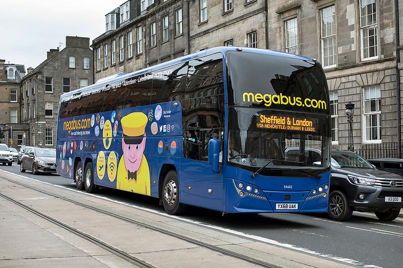 54602 YX68UAK, Edinburgh 16/10/2020