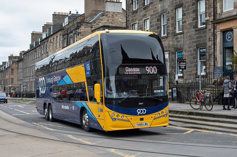 50417 YX69LBU, Edinburgh 16/10/2020