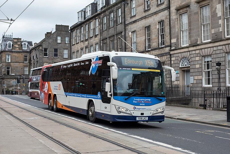 54515 YX18LKZ, Edinburgh 16/10/2020