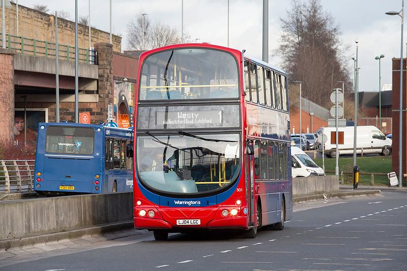 301 LJ04LGC, Warrington 17/2/2020