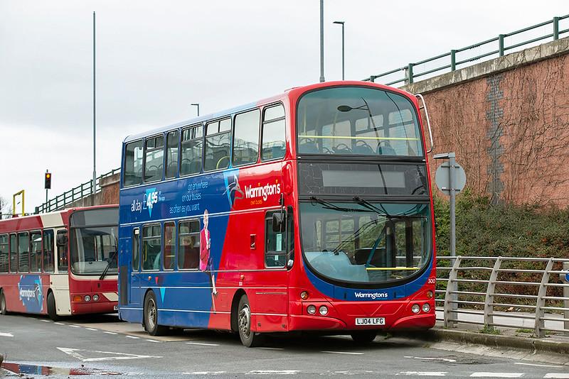300 LJ04LFG, Warrington 17/2/2020