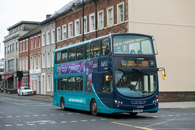 7607 NK59DME, Newcastle 17/3/2020