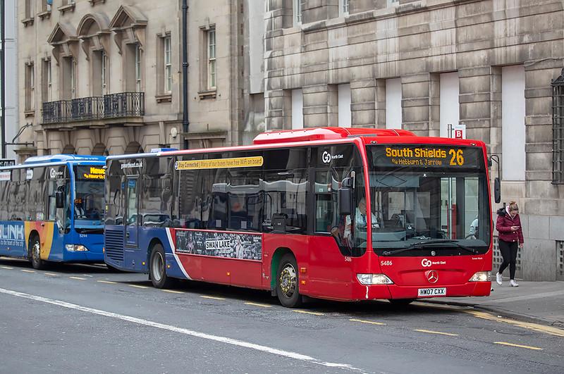 5486 HW07CXX, Newcastle 17/3/2020