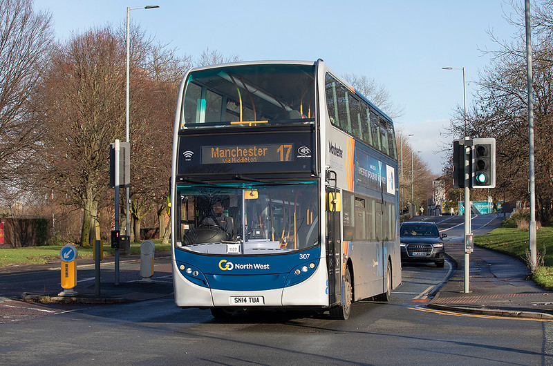 3107 SN14TUA, Manchester 17/12/2020