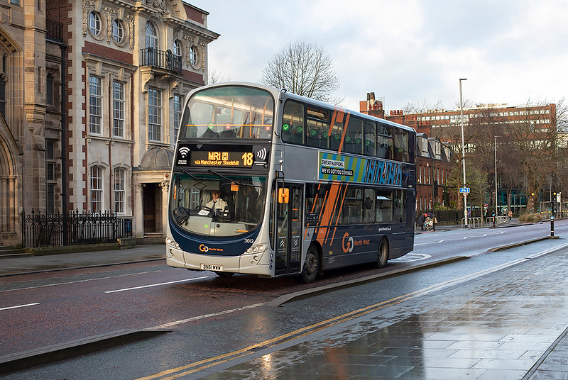 3012 BN61MWW, Manchester 17/12/2020