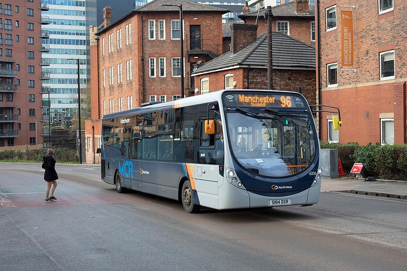 6006 SN14DXR, Manchester 17/12/2020