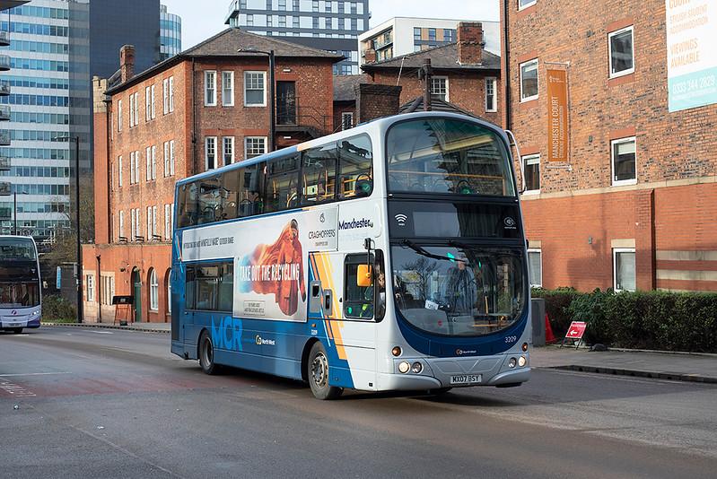 3209 MX07DSY, Manchester 17/12/2020