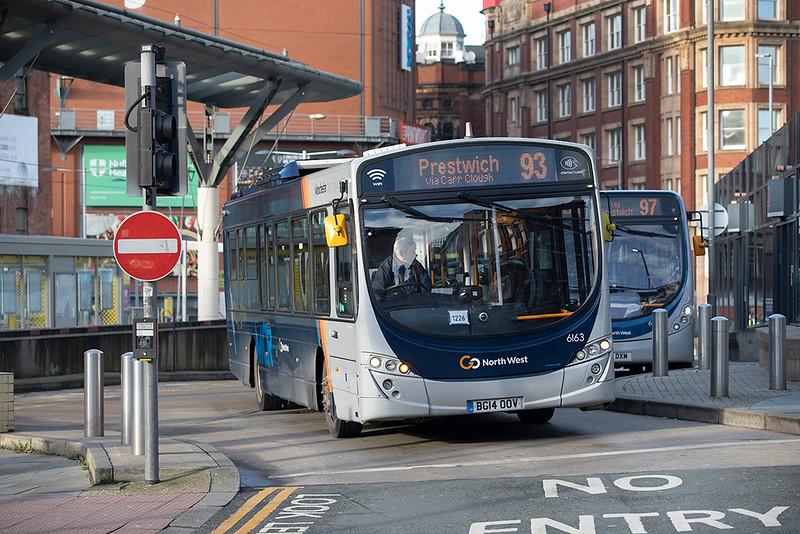 6163 BG14OOV, Manchester 17/12/2020