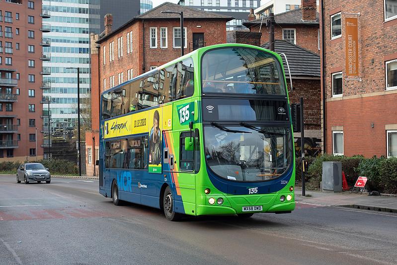 3224 MX58DWD, Manchester 17/12/2020