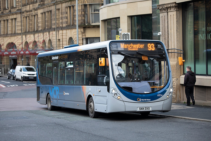 6004 SN14DXO, Manchester 17/12/2020