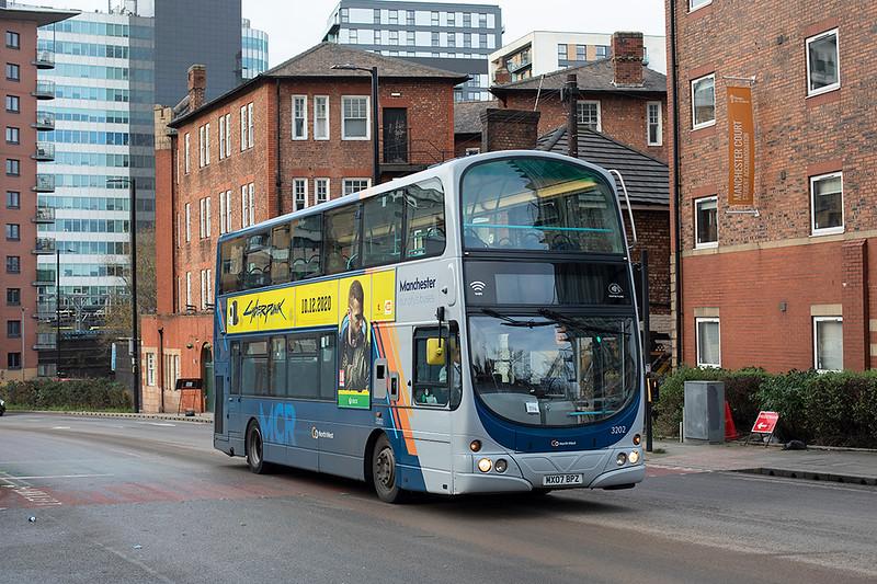 3202 MX07BPZ, Manchester 17/12/2020