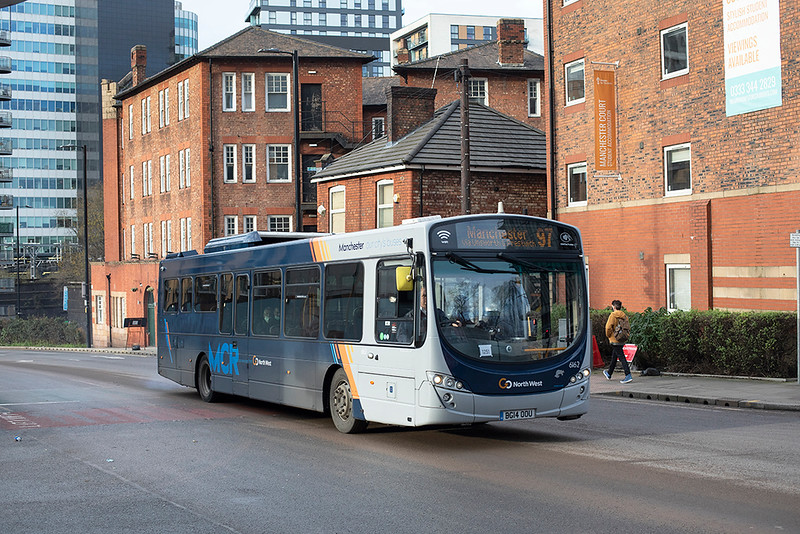 6162 BG14OOU, Manchester 17/12/2020